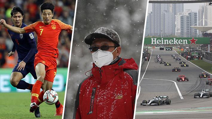 """Mundiales cancelados, """"fuga"""" de futbolistas y carreras suspendidas: El impacto del coronavirus en el deporte"""