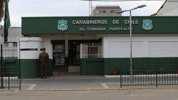 Carabineros interviene comisaría de Puente Alto tras denuncias de golpizas y releva a dos mandos