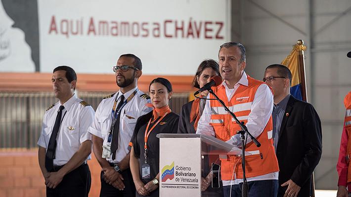 Gobierno de Maduro denunciará a EE.UU. a nivel internacional tras nuevas sanciones a aerolínea estatal