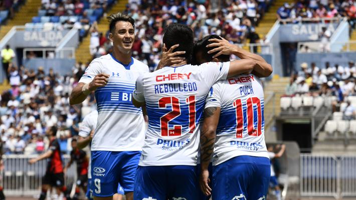 La UC derrota a Antofagasta en un partido de alta intensidad y queda como líder absoluto del Campeonato