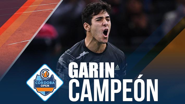 Gigante Garin: Le gana una final inolvidable al argentino Schwartzman y consigue en Córdoba su tercer título ATP