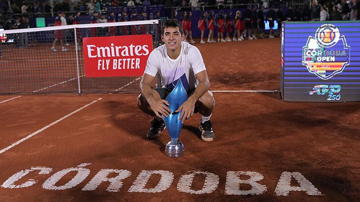 """Tras ganar un tercer título ATP, Garin expresa su """"felicidad"""" y vuelve a desmentir de manera tajante rumor sobre su coach"""
