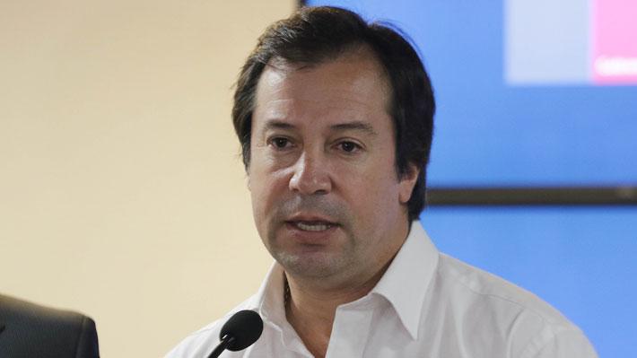 """Ministro Palacios """"molesto"""" ante polémicos audios: """"Conozco bastante poco a Hasbún, no tuve buena relación con él"""""""