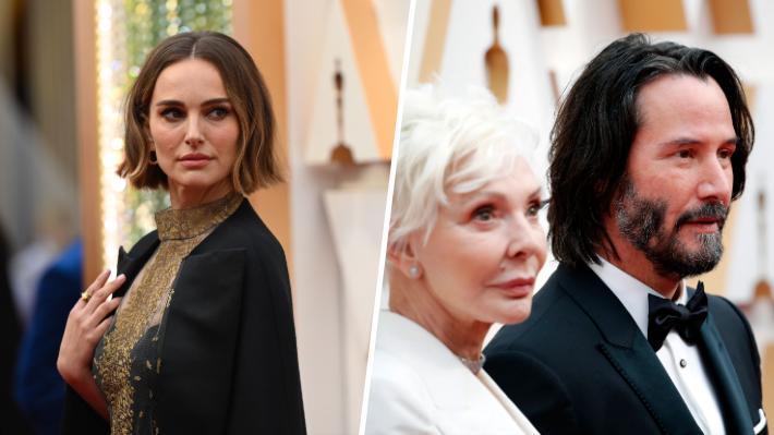Desde la capa en protesta de Natalie Portman a Keanu Reeves junto a su madre: Seis comentados momentos de los Oscar 2020