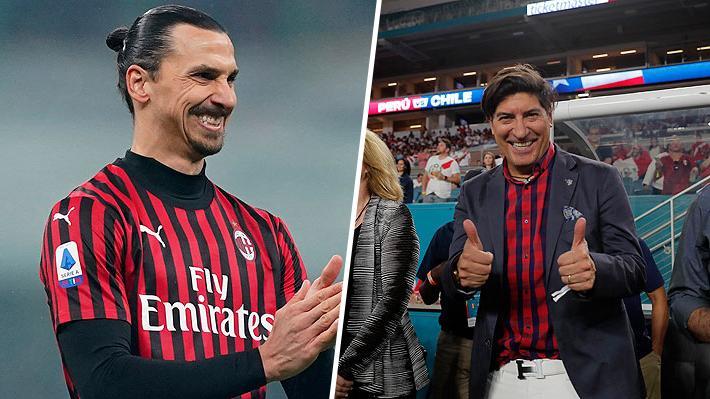 """""""Es una leyenda del fútbol, lo recuerdo saltando y no bajaba nunca"""": Ibrahimovic llenó de elogios a Iván Zamorano"""