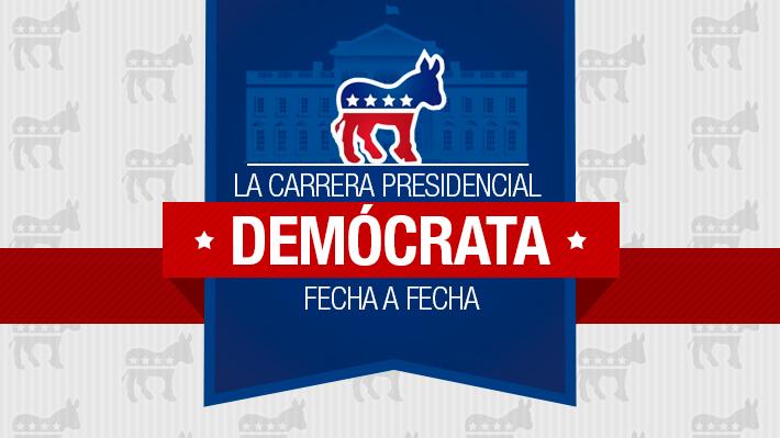 Cómo va la carrera demócrata hacia la Casa Blanca y el calendario de todas las primarias