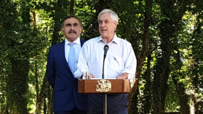 """Presidente Piñera y presuntas coimas en el MOP: """"En nuestro Gobierno hay tolerancia cero con la corrupción"""""""