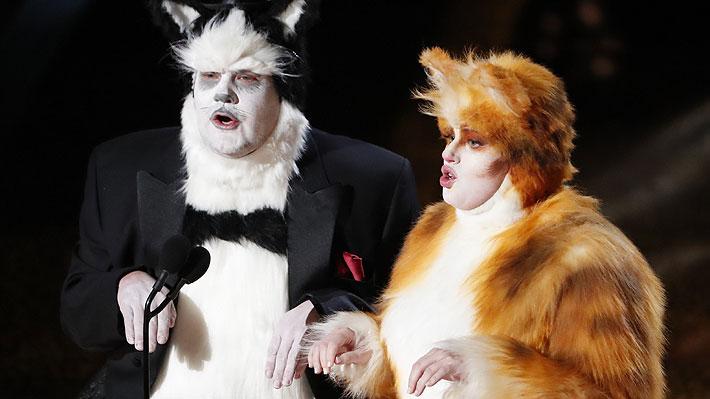 """Artistas de efectos visuales se molestan con la Academia por chiste sobre """"Cats"""" en los Oscar"""