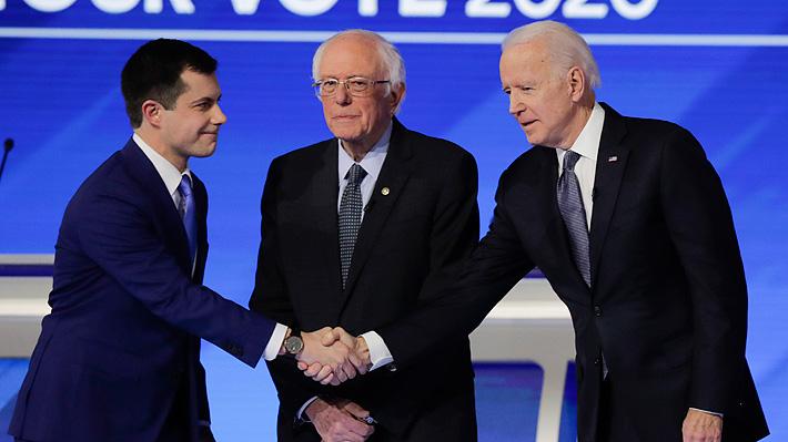 Resumen de las primarias demócratas en New Hampshire: Sanders triunfa, Buttigieg aguanta y Biden se hunde