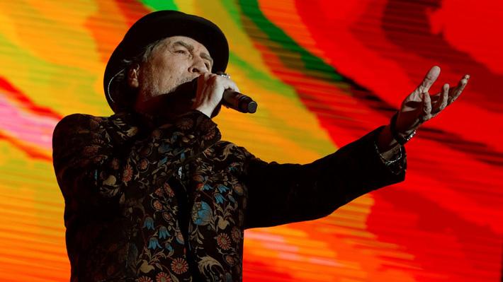 Joaquín Sabina sufrió una fuerte caída sobre el escenario que terminó con la suspensión de su concierto