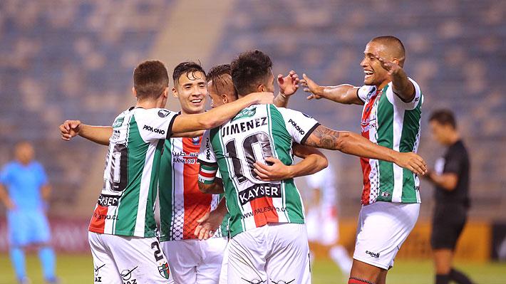 Palestino da espectáculo, aplasta a Cerro Largo y queda a una ronda de llegar a los grupos de la Libertadores