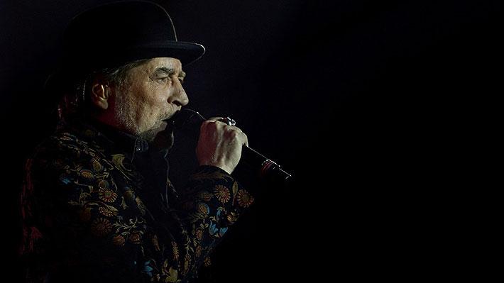 Joaquín Sabina debió ser intervenido de urgencia por caída desde el escenario durante concierto