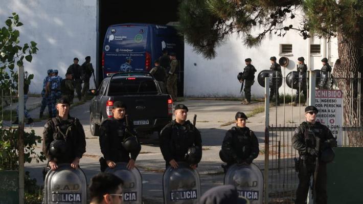 Comenzó la audiencia que definirá el futuro de los ocho detenidos por el crimen de un joven en Argentina