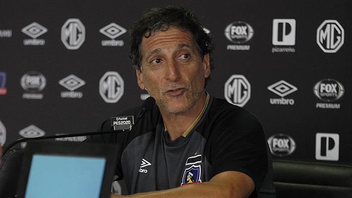 """A pesar de las críticas, Salas asegura que su proceso en Colo Colo """"ha andado a las mil maravillas"""""""