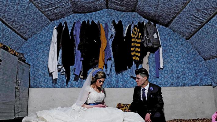 Galería I El amor en tiempos de guerra: en Medio Oriente, el amor triunfa a pesar de los conflictos