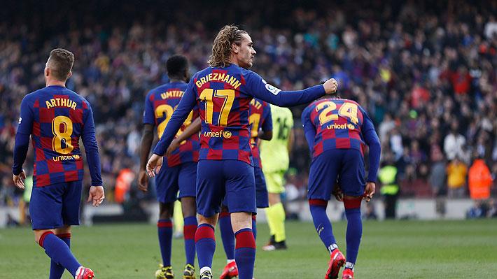 Arturo Vidal ve pocos minutos en cancha en ajustada victoria del Barcelona ante el Getafe por la Liga