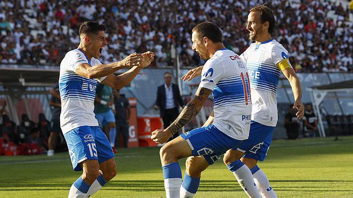 Mira los goles de la UC ante Colo Colo y el polémico penal que no le cobraron a los cruzados