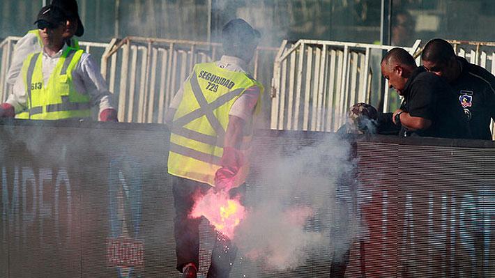 La verdad detrás de la polémica por la autorización para el ingreso de fuegos artificiales en el suspendido Colo Colo-UC