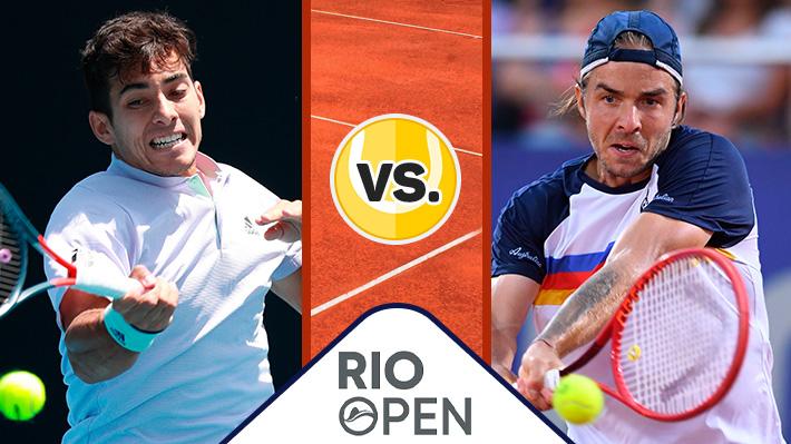 Revive la victoria de Cristian Garin ante Andrej Martin en el ATP 500 de Río