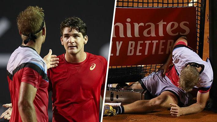 """Video: Tenista español fue pifiado por """"sacar por abajo"""", encaró al público e incluso tuvo tenso cruce con su rival en Río"""