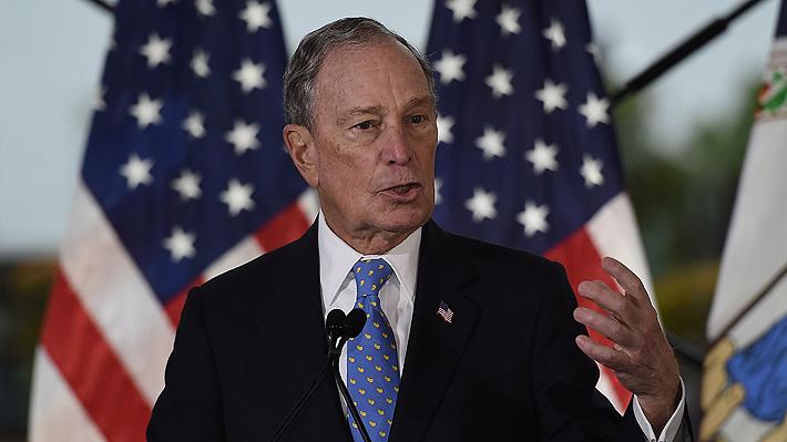 Primarias en EE.UU.: Michael Bloomberg repunta en encuesta y califica para debate demócrata