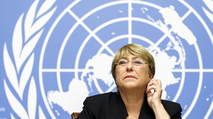 """Michelle Bachelet se encuentra """"alarmada"""" por el """"fracaso de la diplomacia"""" en el conflicto en Siria"""