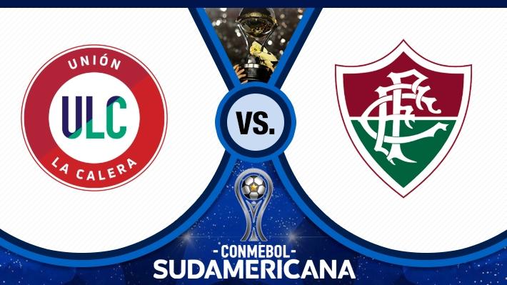 Así se consumó la clasificación de Calera por sobre Fluminense en la Sudamericana