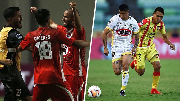 Calera elimina a Fluminense gracias al valioso gol en Brasil y Coquimbo pierde, pero igual avanza en la Sudamericana