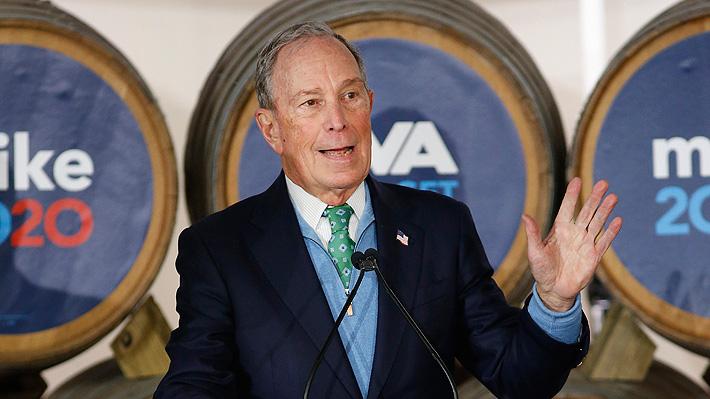 Afirman que Michael Bloomberg venderá su compañía si es electo presidente de EE.UU.