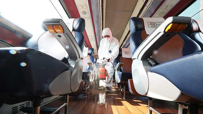 Corea del Sur reporta primera muerte por coronavirus y 53 nuevos contagios