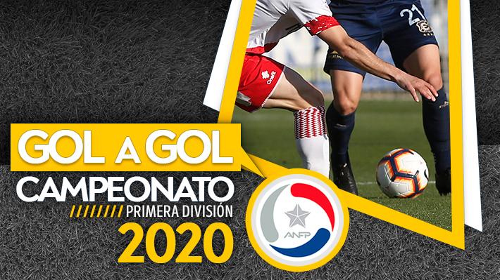 Resultados y programación del Campeonato Nacional 2020