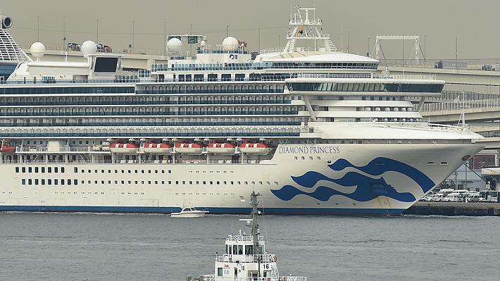 Pareja de chilenos deja crucero puesto en cuarentena en Japón por coronavirus