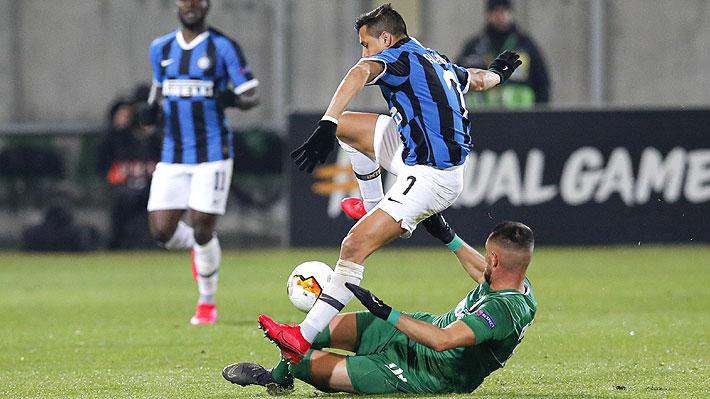 """""""Un taco hermoso"""": Mira el casi gol de Alexis y los tantos del Inter ante el Ludogorets por Europa League"""