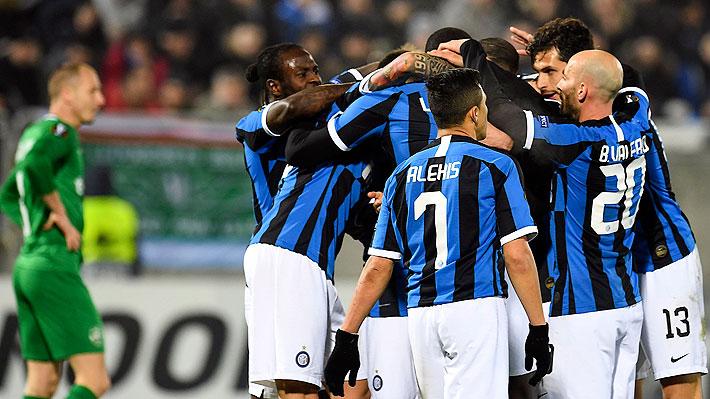Alexis tuvo un correcto partido y gestó la jugada del primer gol del Inter que venció al Ludogorets por la Europa League