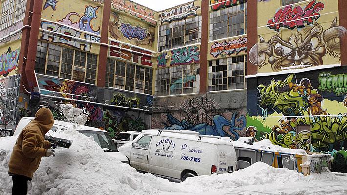 Grafiteros de Nueva York logran millonaria indemnización por demolición de edificio con sus obras