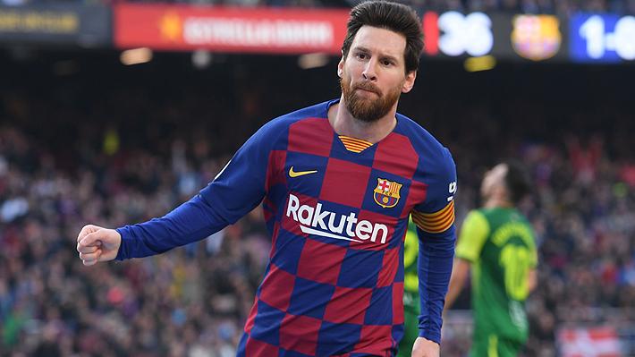 Uno de ellos fue tras jugada con túnel incluido: Mira los golazos de Messi en victoria del Barcelona