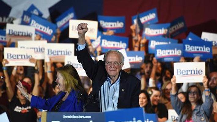 Sanders obtiene contundente triunfo en Nevada y se consolida como favorito para ganar la candidatura demócrata