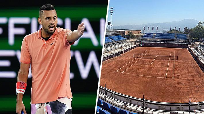 """""""Exterminar a las ratas de arcilla"""": El duro mensaje de Nick Kyrgios al enterarse del ATP de Santiago"""