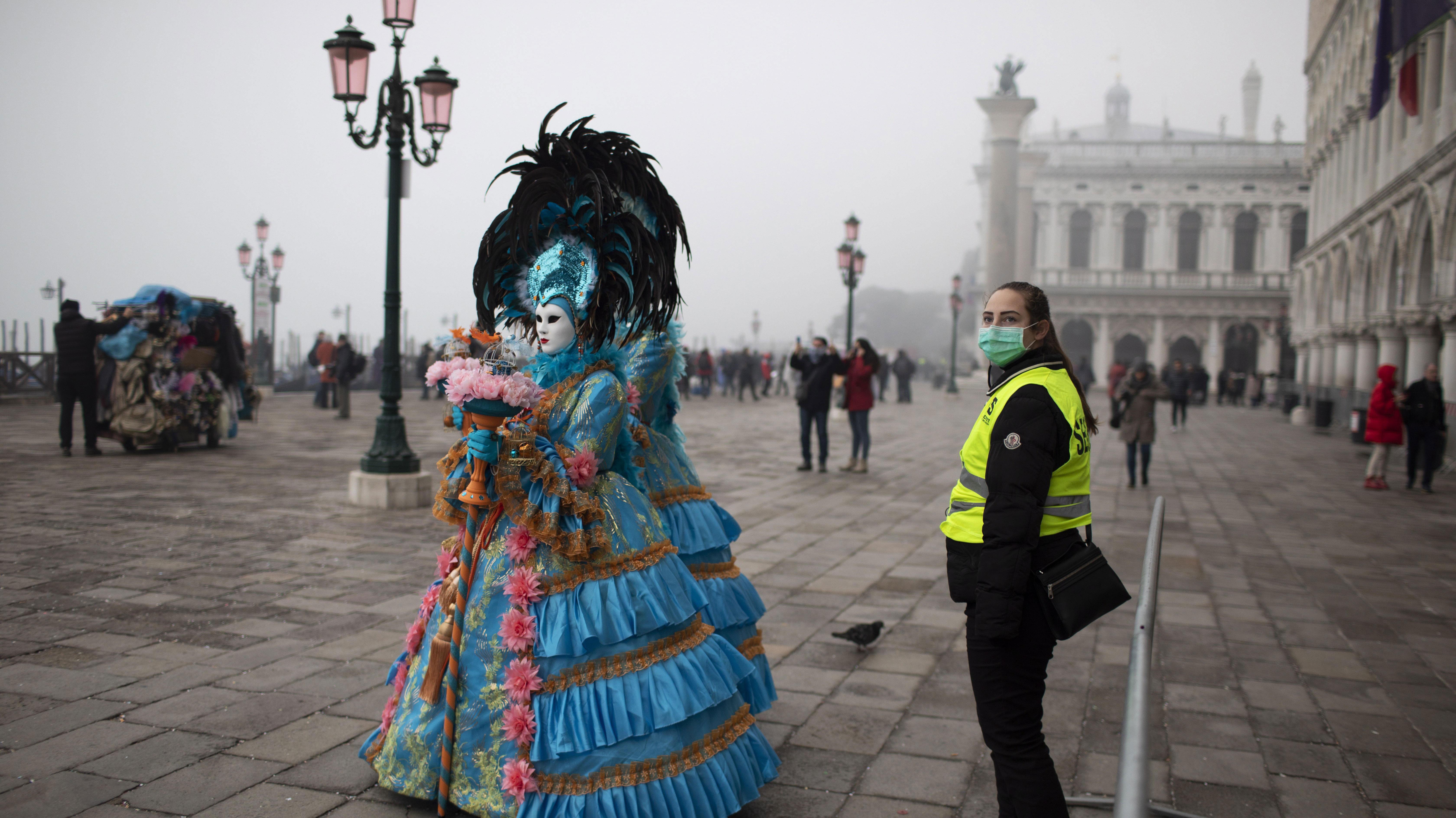 Coronavirus en Italia: Cancelan carnaval de Venecia y cierran escuelas en 3 regiones por temor a propagación de epidemia