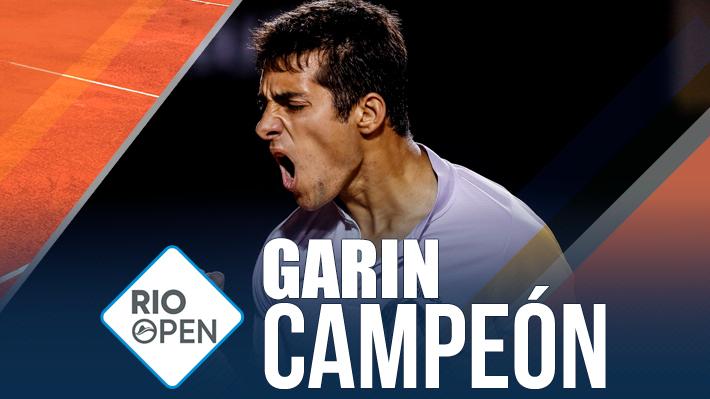 Garin consigue el título más importante de su carrera: Es el nuevo campeón del ATP 500 de Río