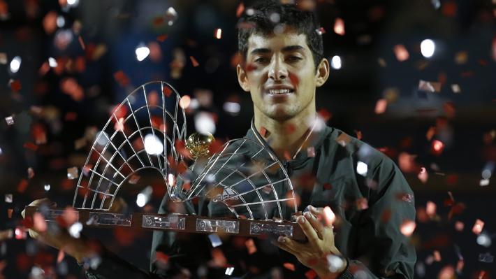 Recuerda los cuatro títulos de Cristian Garin en el circuito y a quién venció en cada final