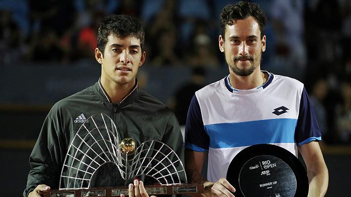 Será el nuevo 18 del mundo: Todo lo que ganó Cristian Garin luego de su título en el ATP 500 de Río