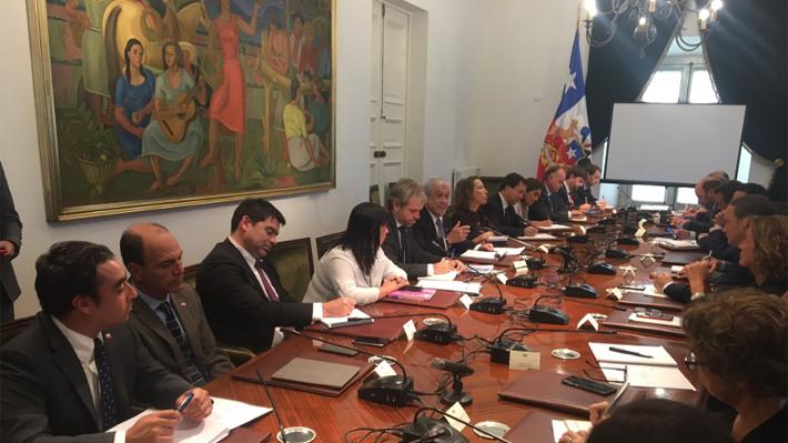 Presidente Piñera encabeza consejo de gabinete: marzo y un posible nuevo cambio de ministros en la agenda