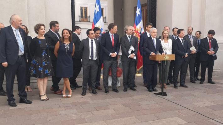 """Presidente advierte que orden público es clave para asegurar éxito del Plebiscito: """"Chile ya ha tenido demasiada violencia"""""""