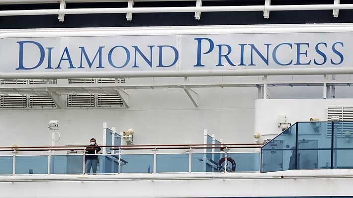 Coronavirus: Dejan bajo vigilancia a pasajeros del crucero Diamond Princess que llegaron a Chile