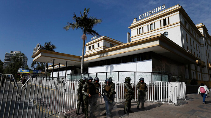 Hotel O'Higgins suspende indefinidamente su funcionamiento tras hechos de violencia en Viña del Mar
