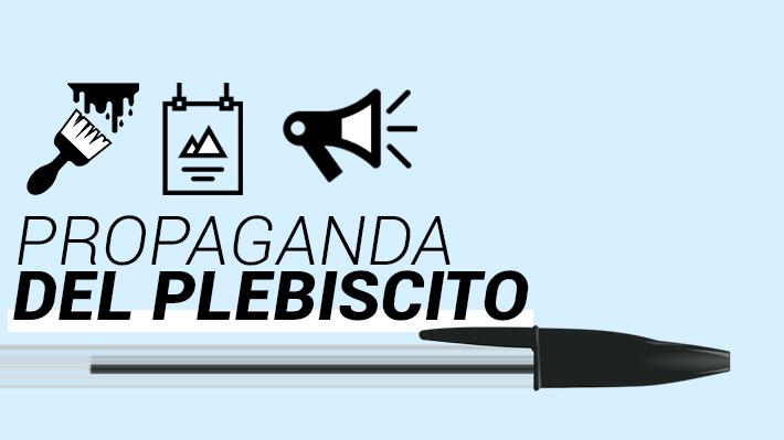 Comienza campaña por el Plebiscito: Qué está permitido y cuáles son los lugares públicos habilitados