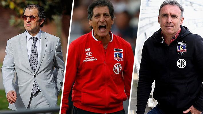 """Aníbal Mosa dice que la decisión de sacar a Salas fue unánime, incluido Espina: """"Era el momento para redireccionar el equipo"""""""