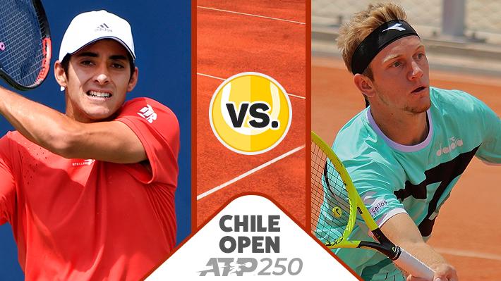 Repasa la victoria de Garin sobre Davidovich en el ATP de Santiago