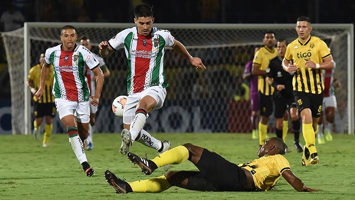 Palestino se vino abajo tras grosero error defensivo, perdió con Guaraní y le dice adiós a la Copa Libertadores